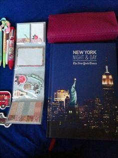 Journal New York Night, Day For Night, Lunch Box, Journal, Baseball Cards, Life, Art, Craft Art, Kunst