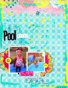 Pool Party - Scrapbook.com