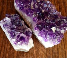 A personal favorite from my Etsy shop https://www.etsy.com/listing/247726950/two-amethyst-clusters-raw-amethyst-geode