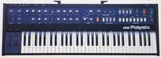 The first synth I ever got to play with.  My buddy Bob VonFeldt was a senior when I was a freshman, and broke centuries worth of social code by speaking to me after a concert one night.  He allowed me to 1) come to his house, 2) play his keyboard and 3) actually allowed me to be seen with him in public.  Truly a great friend, and another reason I followed the path to synth geekdom.