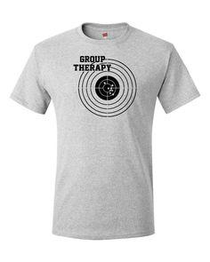 4118f095d Group Therapy Shooting T Shirt Funny Gun Laws Rights American 2nd Amendment  Tee #fashion #