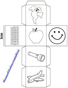 Story cubes caseros modificados para 6 años - cubo 7