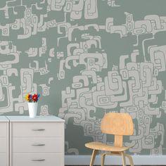 Papel de parede adesivo teens - StickDecor   Decoração Criativa