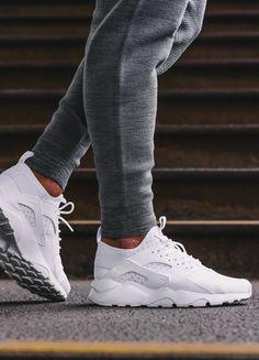 7b8ca145fe5b Nike Air Huarache Run Ultra Triple White  sneakers  sneakernews Nike  Huarache Women