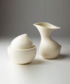 Cream and Sugar, creative pots #earthenware #design