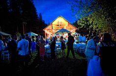 Wedding reception at the Barn