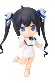 Hestia Action Figure, taken from the Anime series - DanMachi! Hestia now comes in a cute Nendoroid figurine. Officially licensed by - Kotobukiya.