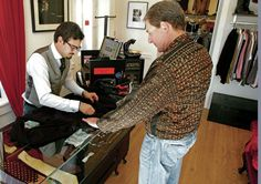 Consignment shop aims to deliver shot of style to Santa Fe men