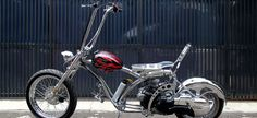 Chopper Matic custom bike bali