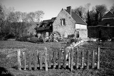 Fonds d'écran Voyages : Europe > Fonds d'écran France > Normandie Maison normande et son moulin par bru59 - Hebus.com