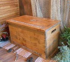 Большой напольный короб с крышкой(ларь). Сундук для хранения. Сосна,керамическая плитка. `LedaksDecor` -для уютного дома!