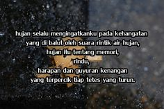 30 Best Tentang Hujan Images Quotes Indonesia Rain Quotes