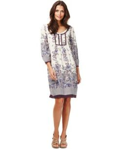 110a2344669 Buy the Floral & Rainbow Print Tunic Dress from Marks and Spencer's  range. Rainbow