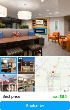 Home2 Suites by Hilton Champaign / Urbana (Champaign, USA) – Book this hotel at the cheapest price on sefibo.