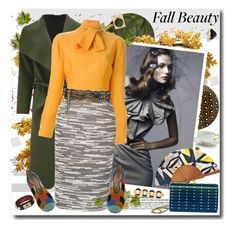 """""""Fall Beauty"""" by nantucketteabook ❤ liked on Polyvore featuring Anja, Jin Soon, Crate and Barrel, Wedgwood, Médard de Noblat, Emilio Pucci, Elie Saab, CÉLINE, Roland Mouret and Givenchy"""