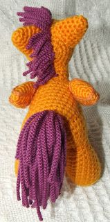 Crochet Pattern for School-age Ponies: