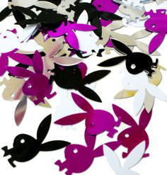 Playboy Bunny Confetti - Party Supplies, Ideas, Accessories ...