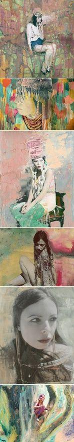 Artist Shae Acopian Detar  via The Jealous Curator blog