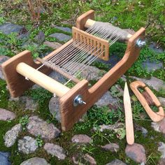 Sorazora Blog: Loom Frame For A Mini Rigid Heddle