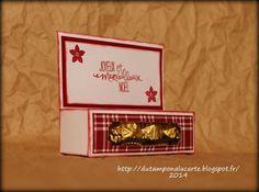du tampon @ la carte: boite pour ... chocolats