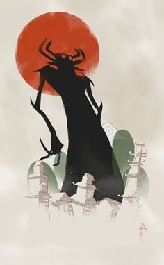 Remember Samurai Jack?  30 great illustrations