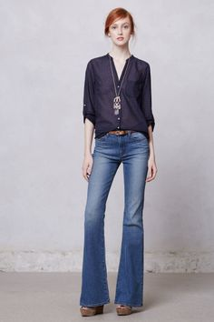 love the blouse/shirt | Anthropologie