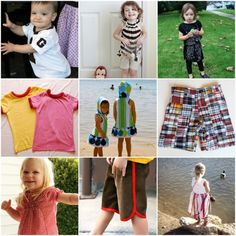 25 Easy Summer Play Clothes to Sew by nadia