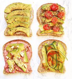 A sustainable home - sostenibilità, green lifestyle Avocado Toast, Vegan Recipes, Breakfast, Panini, Health, Green, Buffet, Bullet Journal, Food