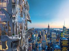 Imagine If This Ornate 102-Story Tower Rose On 57th Street - Thought Experiments - Curbed NY
