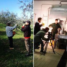 Filming 2017 olive harvest - the media love us! #pornanino #chiantigreengold #chianti #delicious #eatclean #extravirginoliveoil #farm #farmtotable #fresh #growyourownfood #harvest #healthyeating #healthy #healthyfood #olive #oliveoil #organicfood #organic #filming #media #documentary # vegan — in Pornanino.