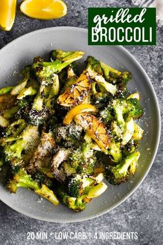Move over roasted broccoli because grilled broccoli is the PERFECT alternative for summer This simple recipe has 4 ingredients and is ready in 20 min via sweetpeasaffron How To Cook Broccoli, Broccoli Recipes, Veggie Recipes, Vegetarian Recipes, Cooking Recipes, Healthy Recipes, Vegetarian Grilling, Broccoli On The Grill, Veggie Food