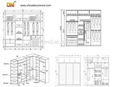 Cheap Modern Bedroom Furniture Wood Walk-in Wardrobe Design Walk In Wardrobe Design, Wardrobe Design Bedroom, Built In Wardrobe, Tv Wall Design, Ceiling Design, Solid Wood Wardrobes, Modern Bedroom Furniture, Amish Furniture, Modern Sliding Doors