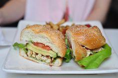 What A Bagel | West Coast Sandwich | $12.49