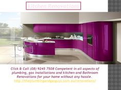 Kitchen Renovations  http://theplumbingandgasguys.com.au/renovations/ - Click & Call (08) 9245 7508 Competent in all aspects of plumbing, gas installations and kitchen and Bathroom Renovations for your home without any hassle.