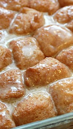 Cinnamon Roll Bites ~ Oh My My... They take no time at all to make and will vanish quicker than a blink of an eye.