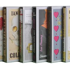 First Edition Library James Bond Set