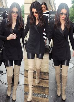Kendall jenner her pants are cool lol