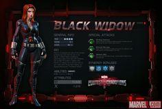 Black Widow in Marvel Contest of Champions Marvel Heroes, Marvel Avengers, Black Widow Costume, Contest Of Champions, Stan Lee, Madness, Cosplay, Costumes, Comics
