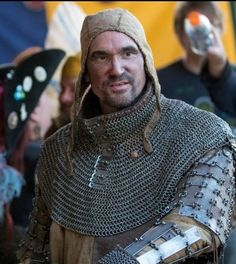 Armor 1350 to 14th cen. weapons and armor, gambeson, Coat of plates, surcoat, Bishop's mantel, splint bracers, chainmail gloves, arming cap.