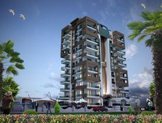 Sunset Bay 3 Residence Apartments in Alanya