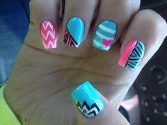 Acrylic nail designs girly