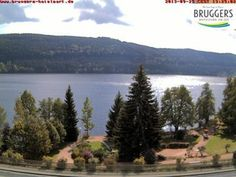 Live camera Webcam Brugger's Hotelpark am See Titisee Titisee, Germany.