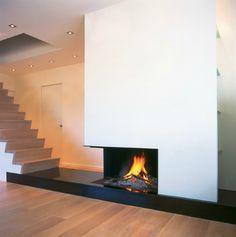 Modern Architectural Fireplaces metalfire ultime classic liftdeurhaard | uw-haard.nl | haarden