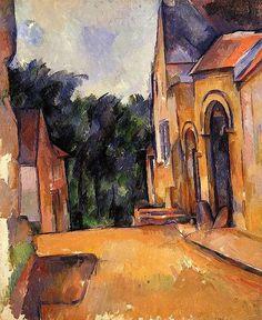 Farm at Montgeroult Paul Cezanne - 1898