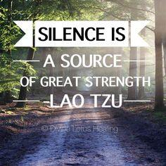 #silence is a source of great #inspiration -#laotzu ---------------------------------- #buddhism #meditation #om #zen #divinelotushealing #justbreathe #reiki #wellness #wellnesszone #gokai #shinrinyoku #meditatedaily #meditateonthis #lifequotes #inspirationalquotes