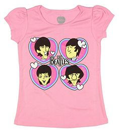 Rock and Roll Baby Toddler TShirts Tees Many Options To Choose 3 Toddler Beatles Love Yellow ** Click image to review more details.