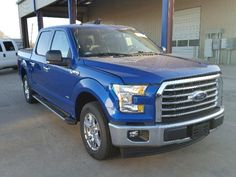 Salvage 2017 Ford F150 Supercrew
