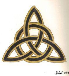 Symboles celtique et breton TRIANGLE CELTIQUE Ceci n'est pas un pochoir merci respecter le travail d'autrui !!!! kenavo