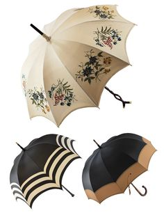 check out the couture and vintage umbrellas at Parasolerie Heurtault at the Viaduc des Arts (85 avenue Daumesnil, 12th, M° Bastille).
