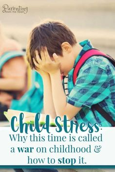 There is a higher incidence of child stress and anxiety in school-aged kids than ever before. Parenting from the Heart shares how to change the course of overwhelm and stress and improve your child's life. Find the help you need for how to approach anxiety your child is feeling and prevent overwhelm that can affect your child's emotions and behavior. #parenting #education Parenting Done Right, Parenting Teens, Good Parenting, Parenting Hacks, Parenting Articles, Christian Parenting Books, How To Handle Stress, Emotional Child, Counseling Activities